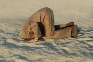 Some bury their heads in the sand rather than hear the truth