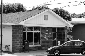 The Stillman Valley Post Office where the crime took place
